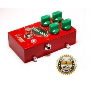 Pedal Fire Sweet Chilli Transparent Chili Drive Overdrive