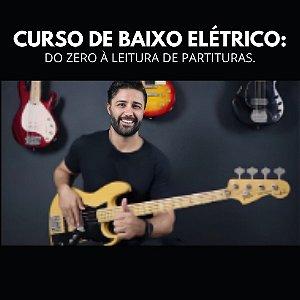 CURSO DE BAIXO ELÉTRICO - DO ZERO À LEITURA DE PARTITURAS