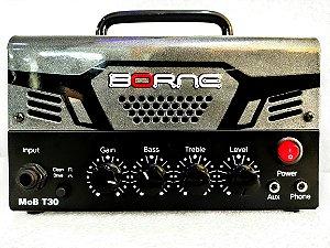 Cabeçote Borne MOB T30 Chumbo Amplificador 30W Bivolt