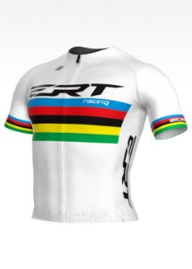 Camisa New Elite ERT Racing Campeão Mundial Branca – Sem gola