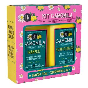 Lola Cosmetics Camomila Shampoo + Condicionador