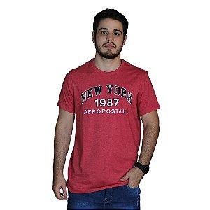 Camiseta AÉROPOSTALE Bordado Rosa