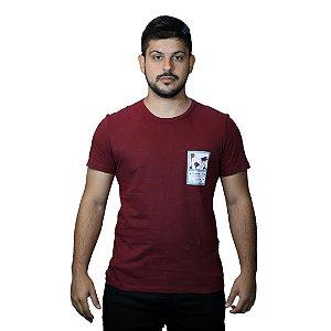 Camiseta ACOSTAMENTO Quadro Flores Vermelho Barca