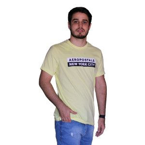 Camiseta AÉROPOSTALE New York City Yellow