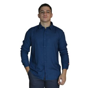 Camisa JAB Fresh Touch Azul