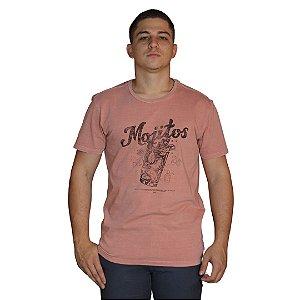 Camiseta JAB Mojitos Rosa