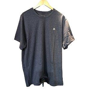 Camiseta AÉROPOSTALE Básica Azul Marinho Oxford