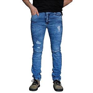 Calça Jeans AÉROPOSTALE Destroyed Skinny