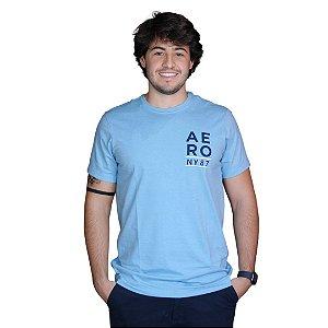 Camiseta AÉROPOSTALE NY87 Azul