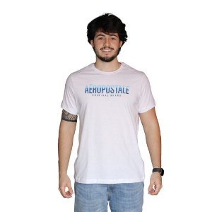 Camiseta AÉROPOSTALE Degrade Azul