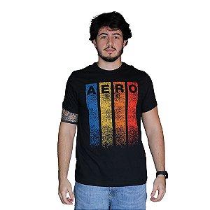 Camiseta AÉROPOSTALE Aero Cores Preto