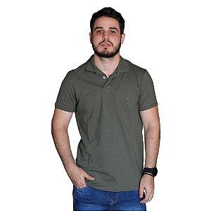 Camisa Polo ACOSTAMENTO Verde Militar