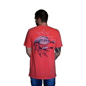 Camiseta VON DER VÖLKE Lion Sea Coral