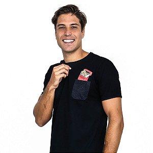 Camiseta LA MOUSTACHE Pocket Smoke
