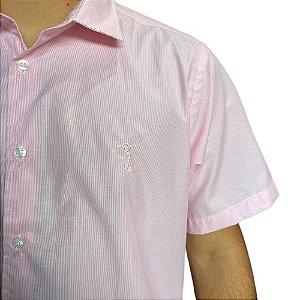 Camisa ALEATORY MC Rosa
