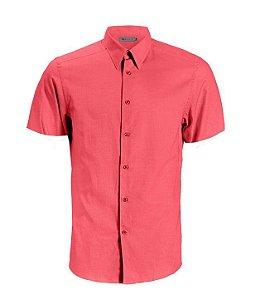 Camisa CATFISH Linho MC Rosa