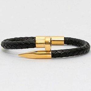 Pulseira OCCHIALI Corda Black/Gold