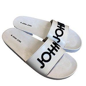 Slide JOHN JOHN Branco