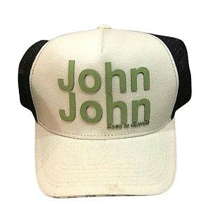 Boné JOHN JOHN Estampa Verde
