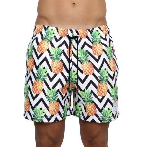 Swim Shorts LA MOUSTACHE Pineapple