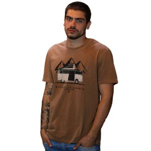 Camiseta JAB Vanlife Home Fendi