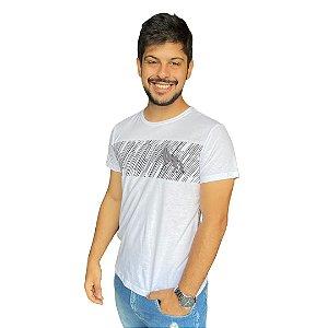Camiseta ACOSTAMENTO SK Branco Tarja