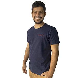 Camiseta JAB Tropical Cocktails Marinho
