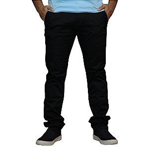 Calça Chino JAB Stretch Standard Preta