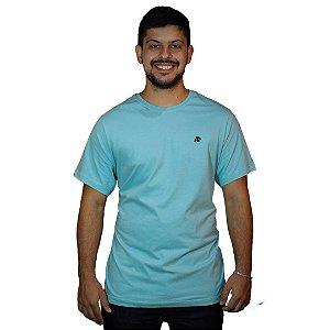 Camiseta AEROPOSTALE Básica Azul Claro