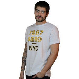 Camiseta AEROPOSTALE Logo 1987 Branco