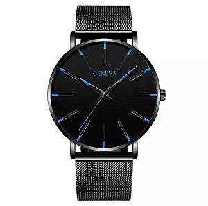 Relógio GENEVA Black/Blue