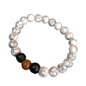 Pulseira OCCHIALI White/Black/Brown