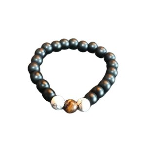 Pulseira OCCHIALI Black/White/Brown