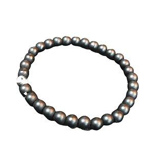 Pulseira OCCHIALI Small Stone Black/White