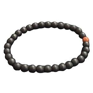 Pulseira OCCHIALI Small Stone Black/Glitter Brown