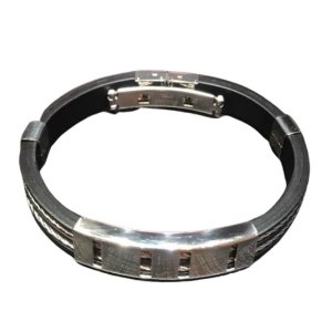 Bracelete OCCHIALI Black/Silver