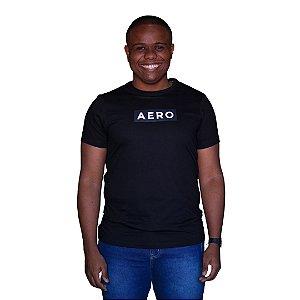 Camiseta AEROPOSTALE Logo Aero Preto