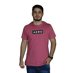 Camiseta AEROPOSTALE Logo Aero Rosa