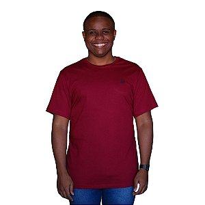 Camiseta AEROPOSTALE Básica Bordô