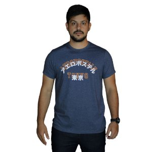 Camiseta AEROPOSTALE Mandarim Azul Marinho