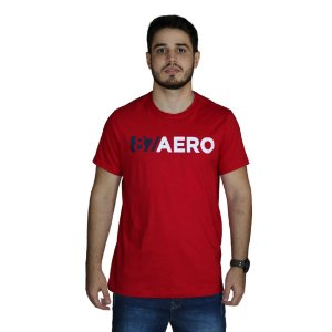 Camiseta AEROPOSTALE Logo 87 Aero Vermelho