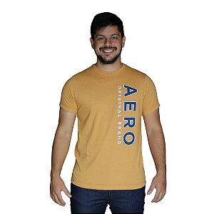 Camiseta AÉROPOSTALE Aero Original Brand Mostarda