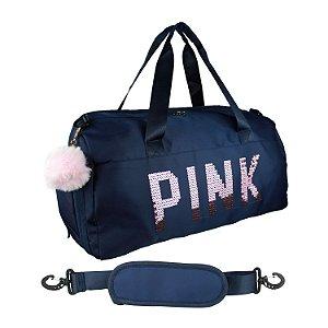Bolsa Feminina Academia Mala Viagem Pink Fitness Tumblr 2021