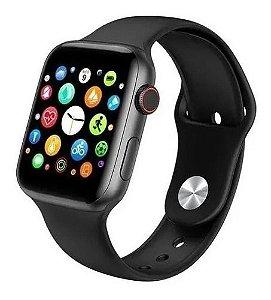 Relógio Smartwatch T500 + Pulseira Silicone