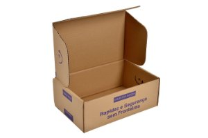 Caixa Papelão Correio N- 02  260x75x90 MM