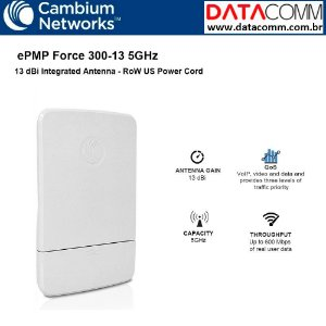 CAMBIUM RADIO EPMP FORCE 300-13 SM 5GHZ C050900C711A BR