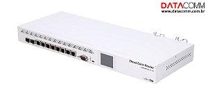 Roteador MikroTik Cloud Core CCR1009-7G-1C-1S+ Branco 100V/240V