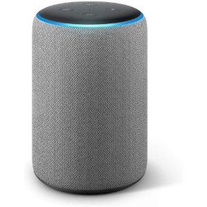 Amazon Echo Plus 2nd Gen com asistente virtual Alexa heather gray 110V/240V
