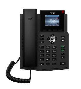 FANVIL TELEFONE X3SG IP 4 LINHAS CORPORATIVO (POE) GIGA