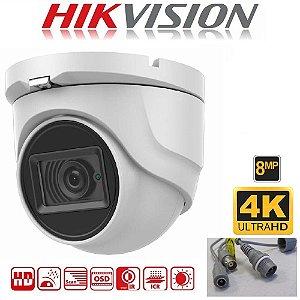 HIKVISION CAMERA HD 4K TURRET DS-2CE76U1T-ITPF 8MP 2.8MM